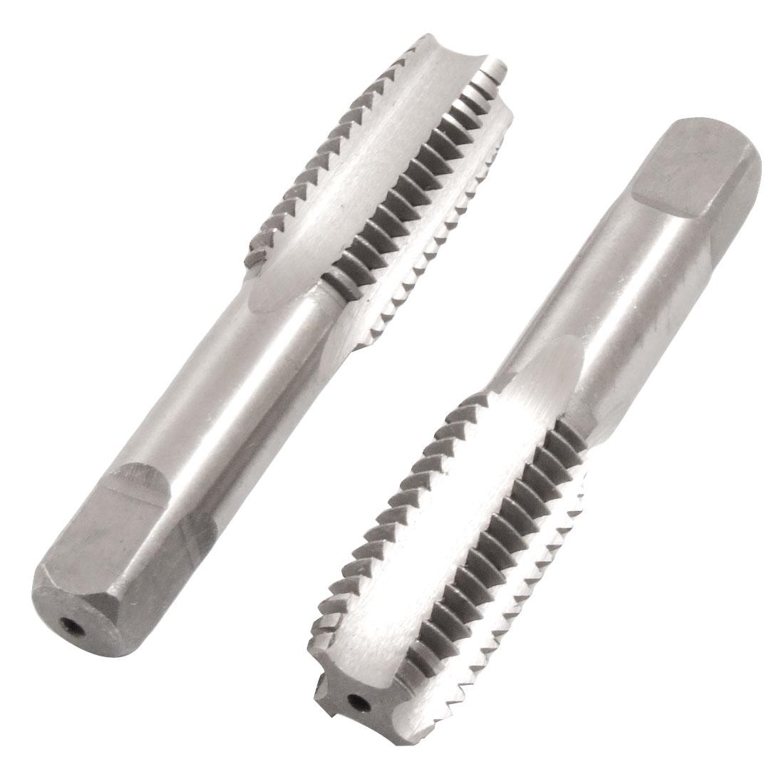 2 x M18 18mm High Speed Steel HSS Hand Screw Thread Metric Taps