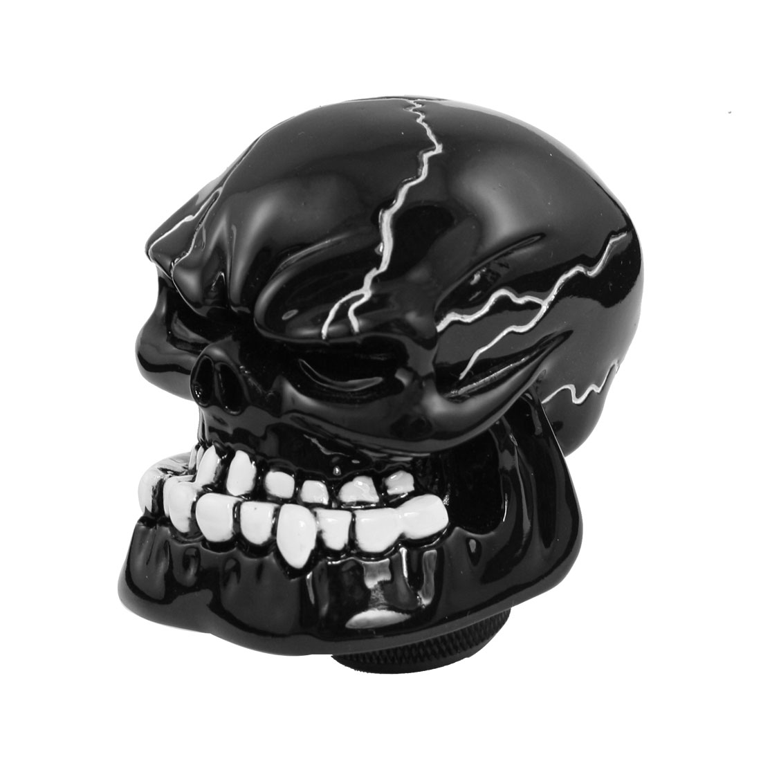 Human Evil Skull Style Car Auto Universal Manual Gear Shift Knob Shifter Black