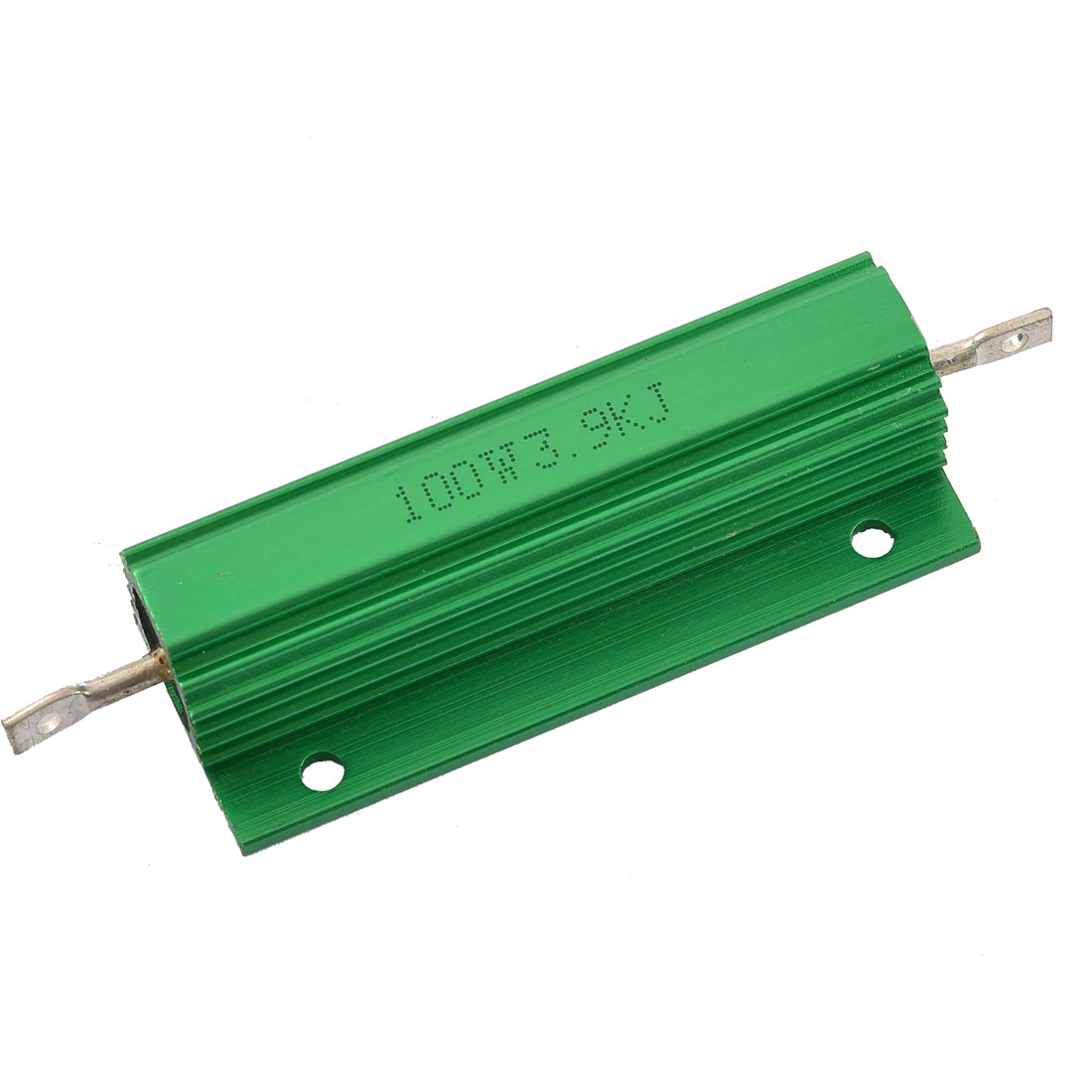 Aluminum Case Chassis Mounted 100W Watt 3.9K Ohm Wirewound Resistor