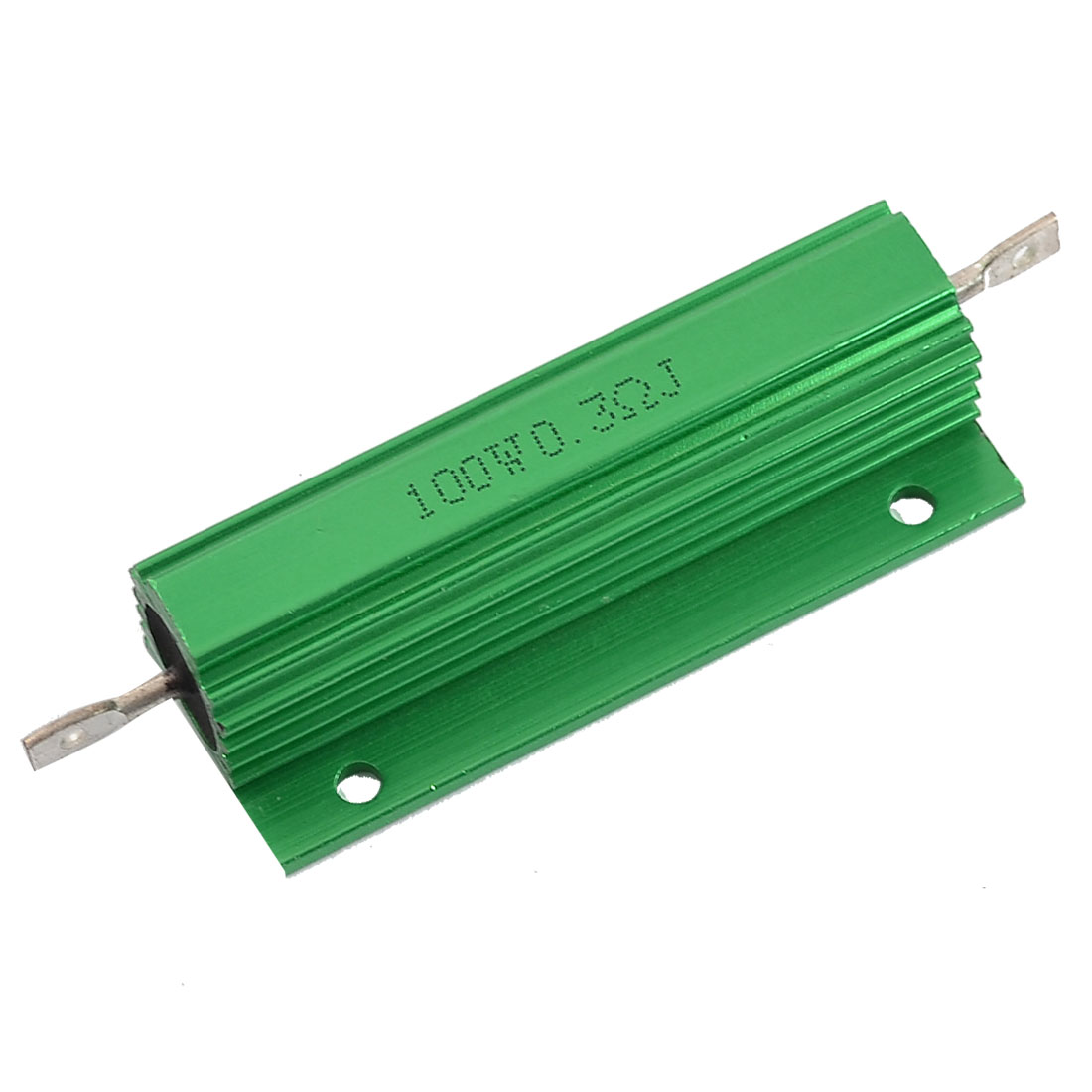 Aluminum Housed Chassis Mounted 100W Watt 0.3 Ohm 5% Wirewound Resistor
