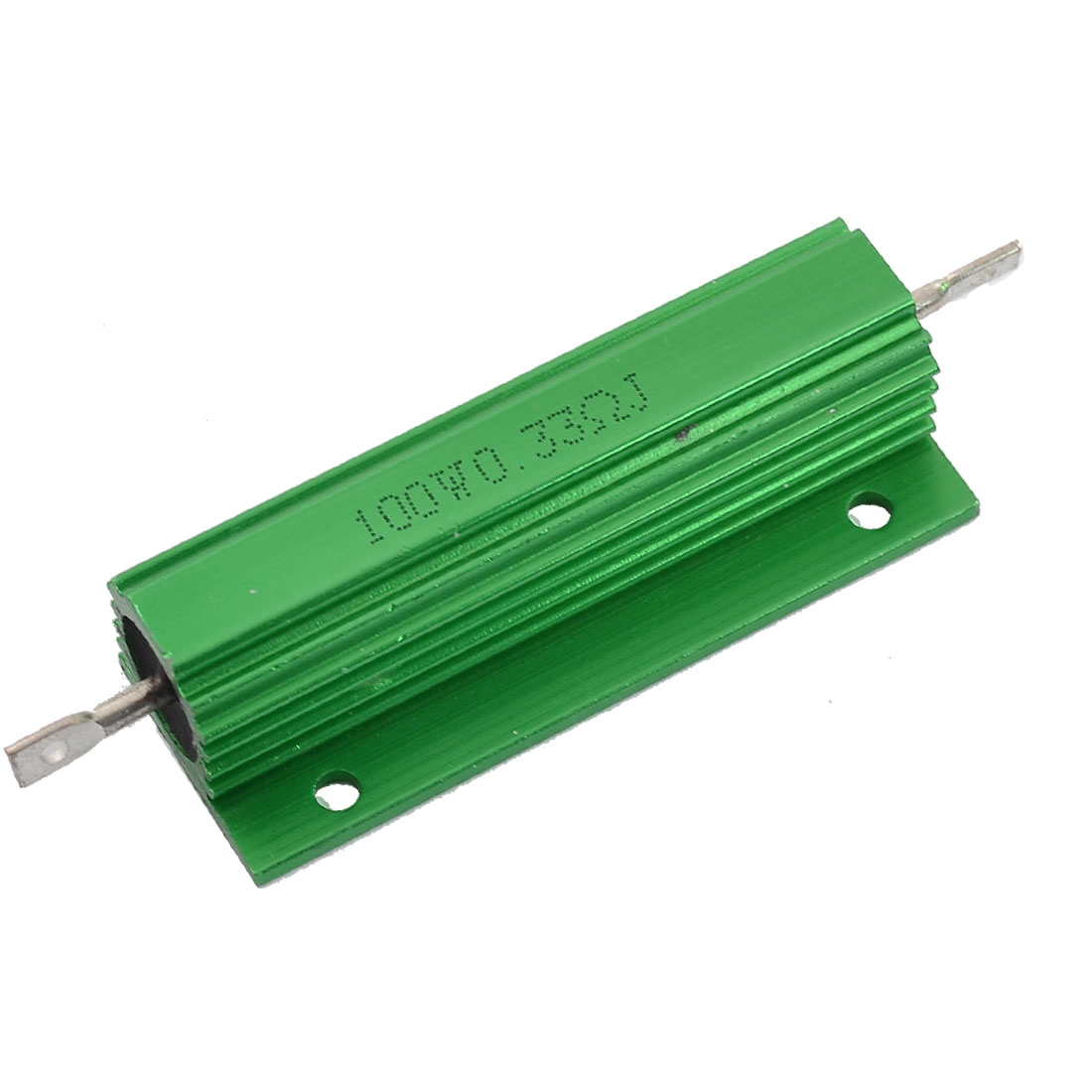 Aluminum Shell Chassis Mounted 100W Watt 0.33 Ohm 5% Wirewound Resistor