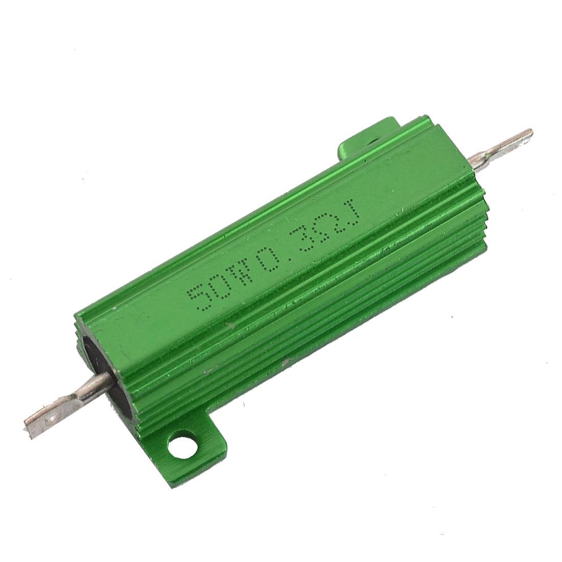 Aluminum Housing 50W Watt 0.3 Ohm 5% Wirewound Resistor for Transducer