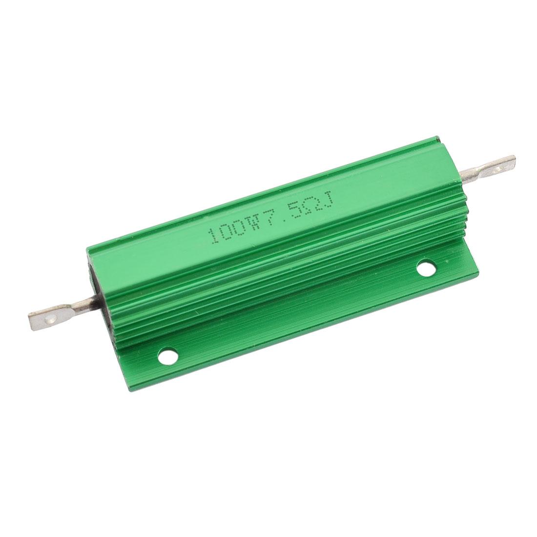 Chassis Mounted 100W Watt 7.5 Ohm Wirewound Power Resistor