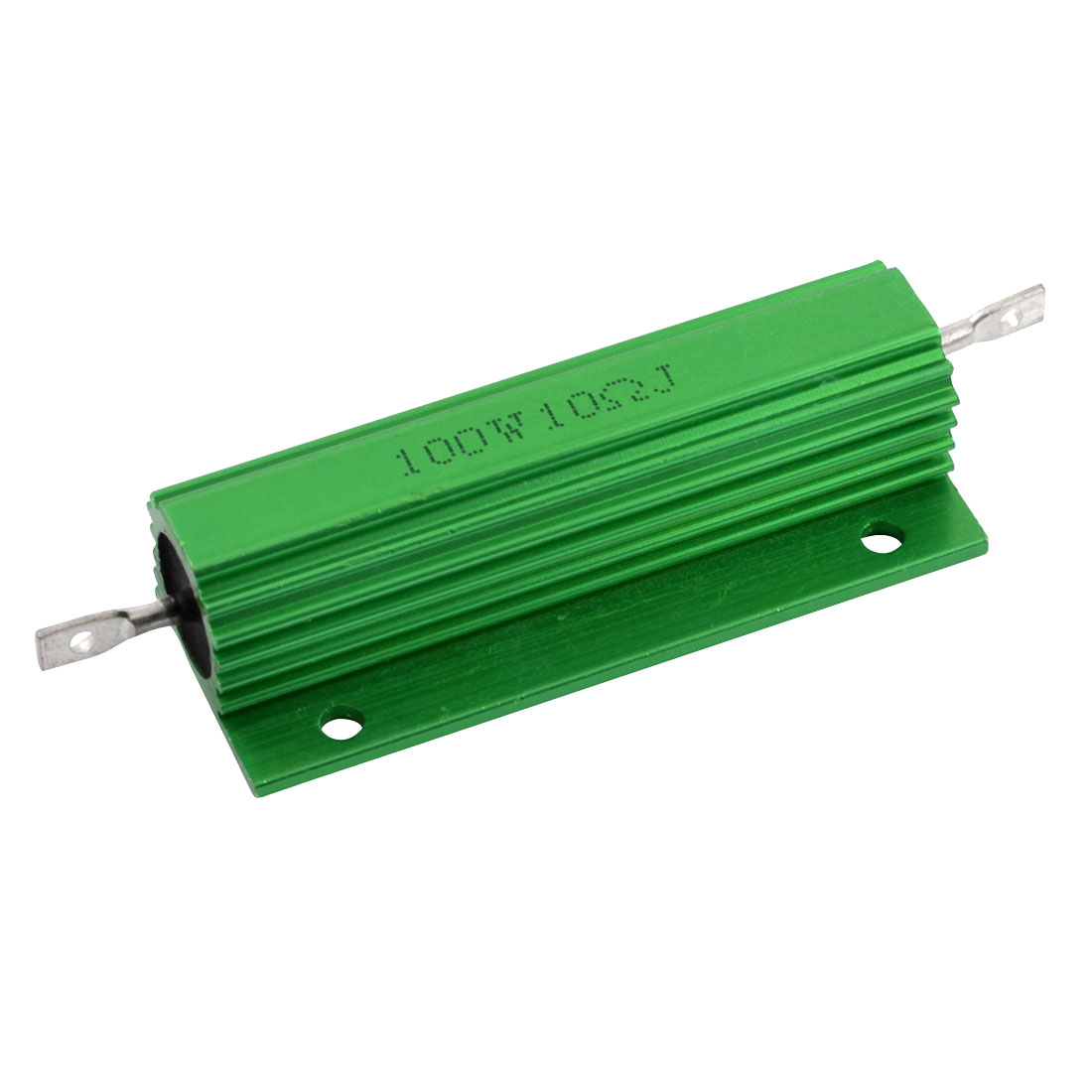 Aluminum Housed Chassis Mounted 100W Watt 10 Ohm Wirewound Resistor