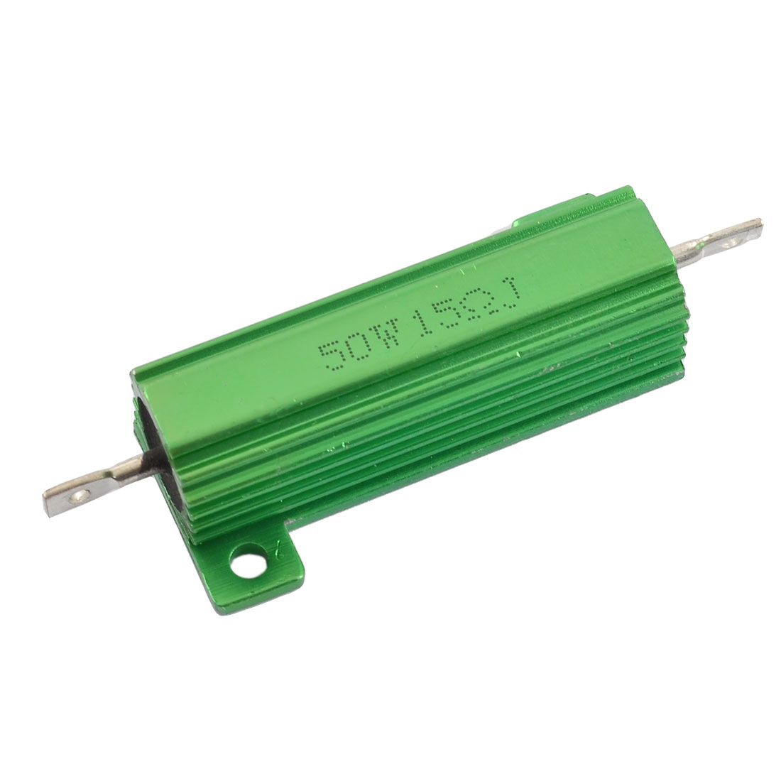 Aluminum Shell 50W Watt 15 Ohm 5% Chassis Mounted Wirewound Resistor
