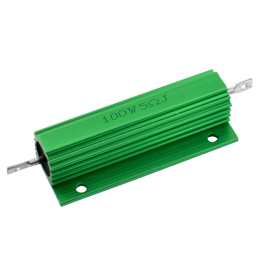 Aluminum Housing Chassis Mounted 100W Watt 5 Ohm Wirewound Resistor