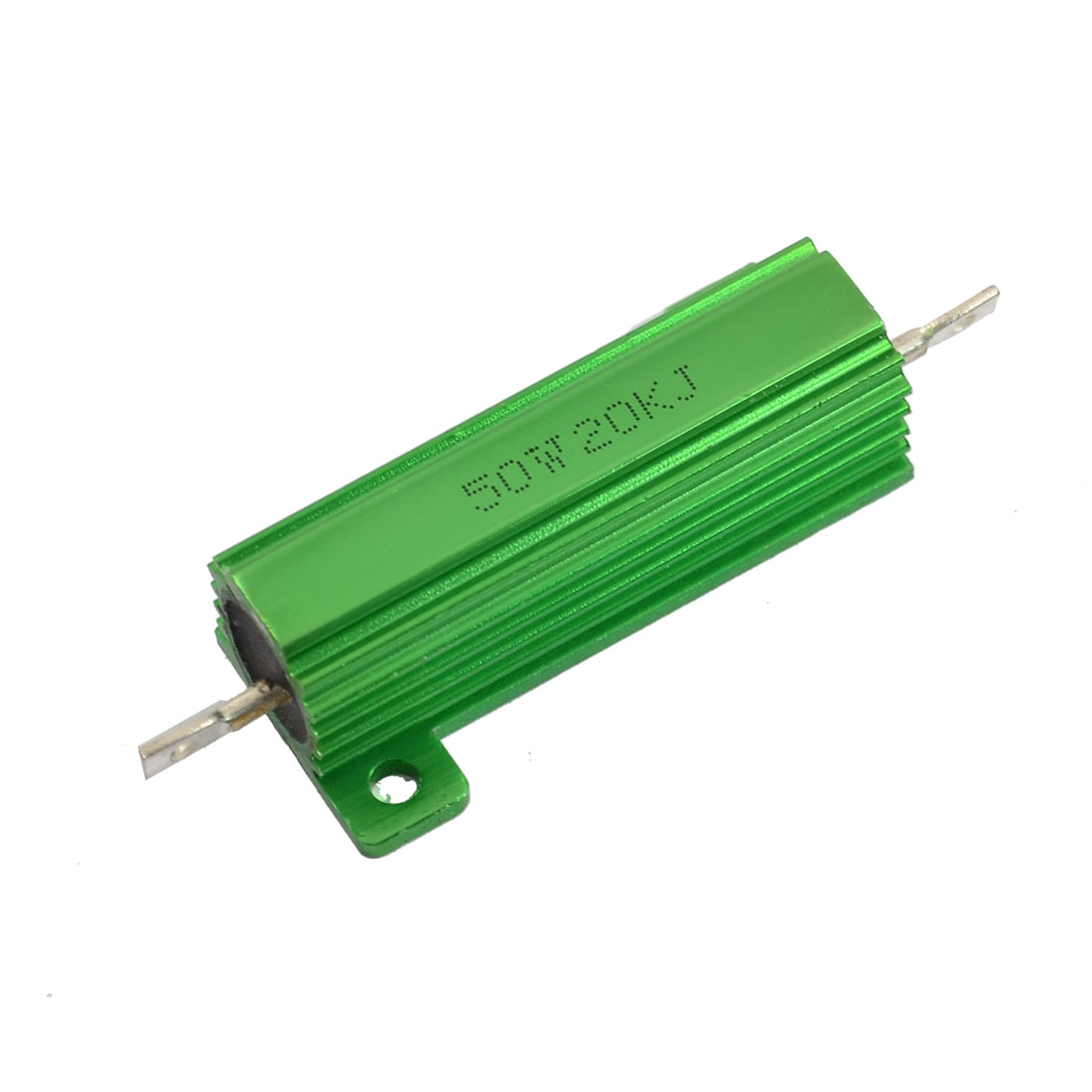 Aluminum Case 50W 20K Ohm 5% Chassis Mounted Wirewound Resistor
