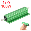 100 Watt 1K Ohm 5% Chassis Mounted Aluminum Case Wirewound Resistor
