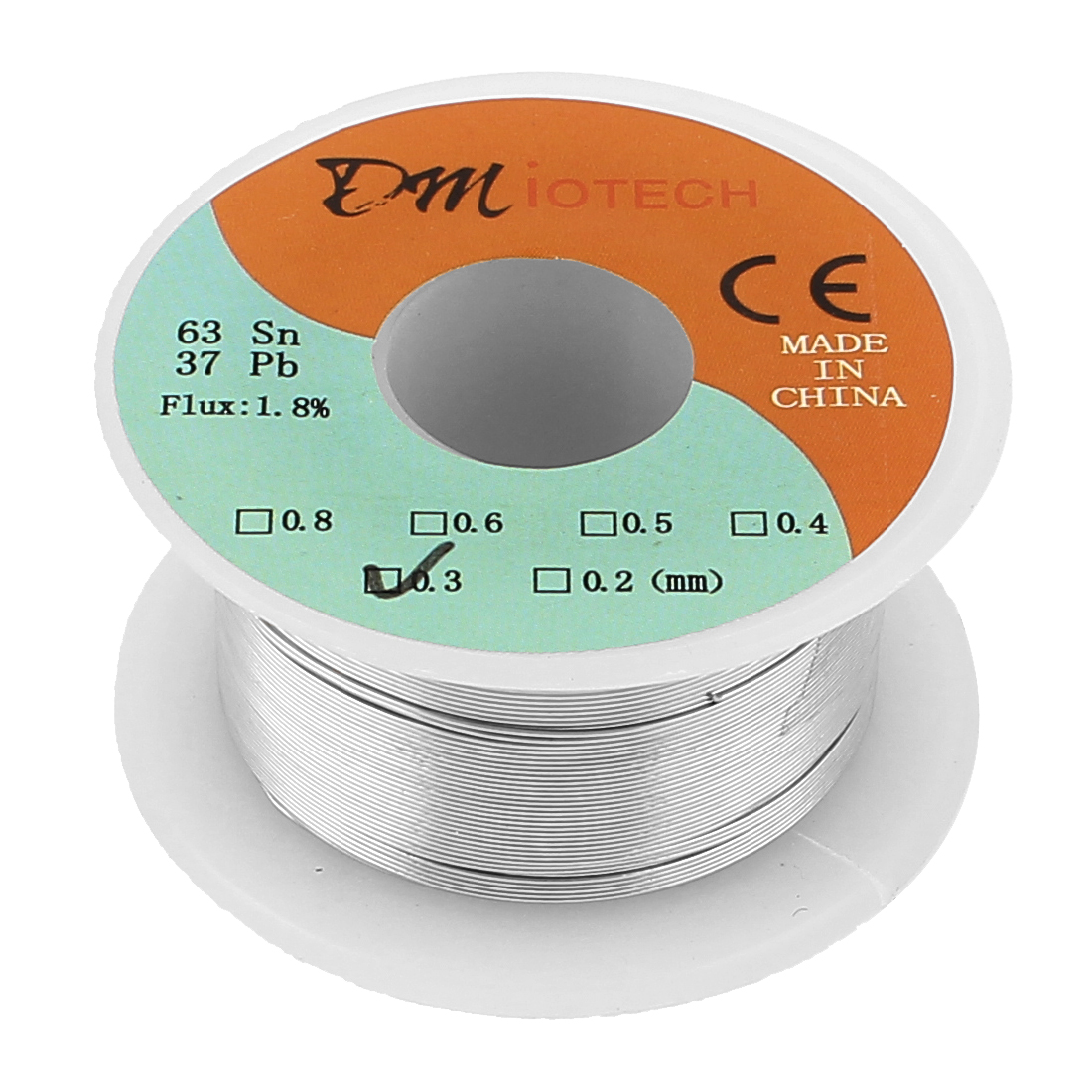 35g 0.3mm Rosin Core Solder Tin Lead Solder Wire 63/37 for Electrical Soldering