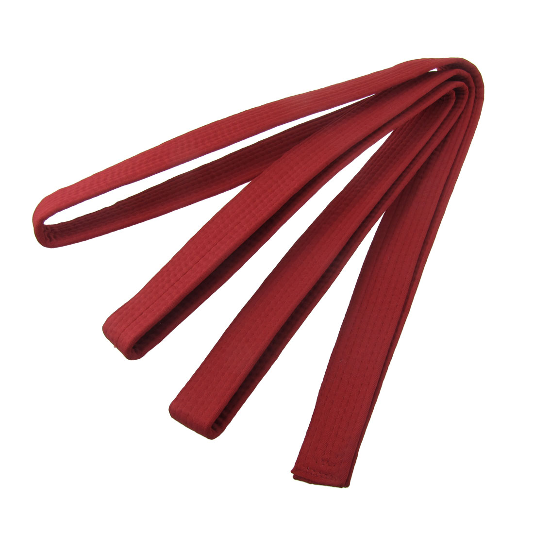 280cm x 4cm Red Level 2 Taekwondo Belt Waistband
