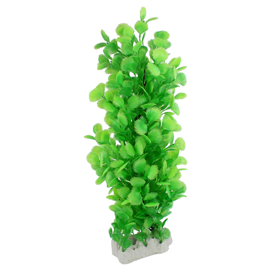 """Green 16.1"""" High Artifical Plastic Underwater Plant Aquarium Decoration"""