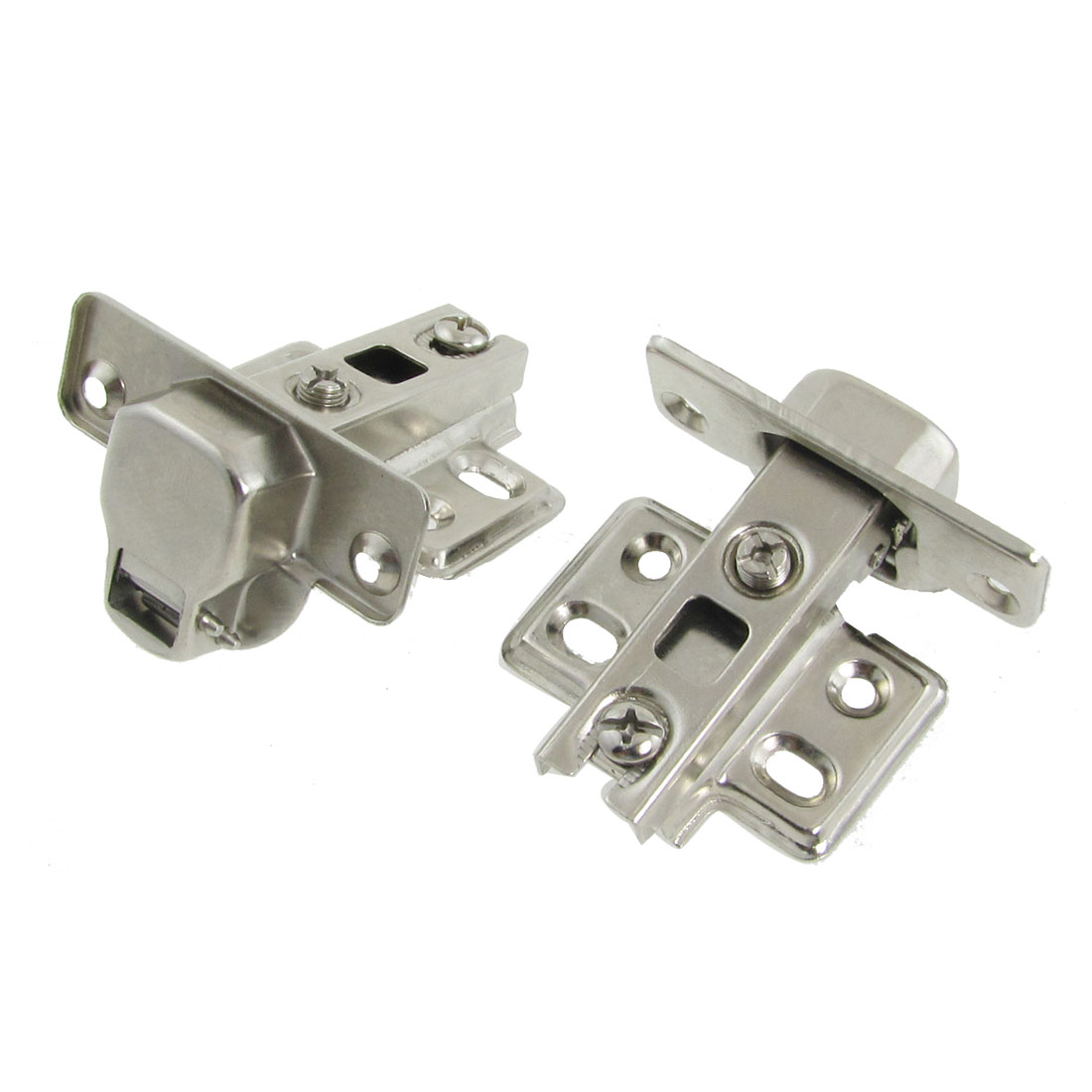 Pair Furniture Hardware Buffer Metal Concealed Cabinet Hinge