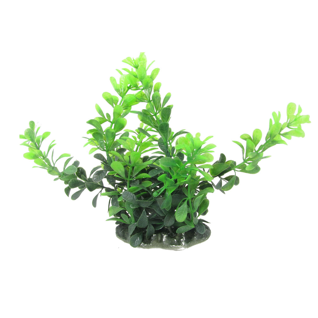 Aquarium Aquascaping Green Plastic Simulation Plant 6.7""