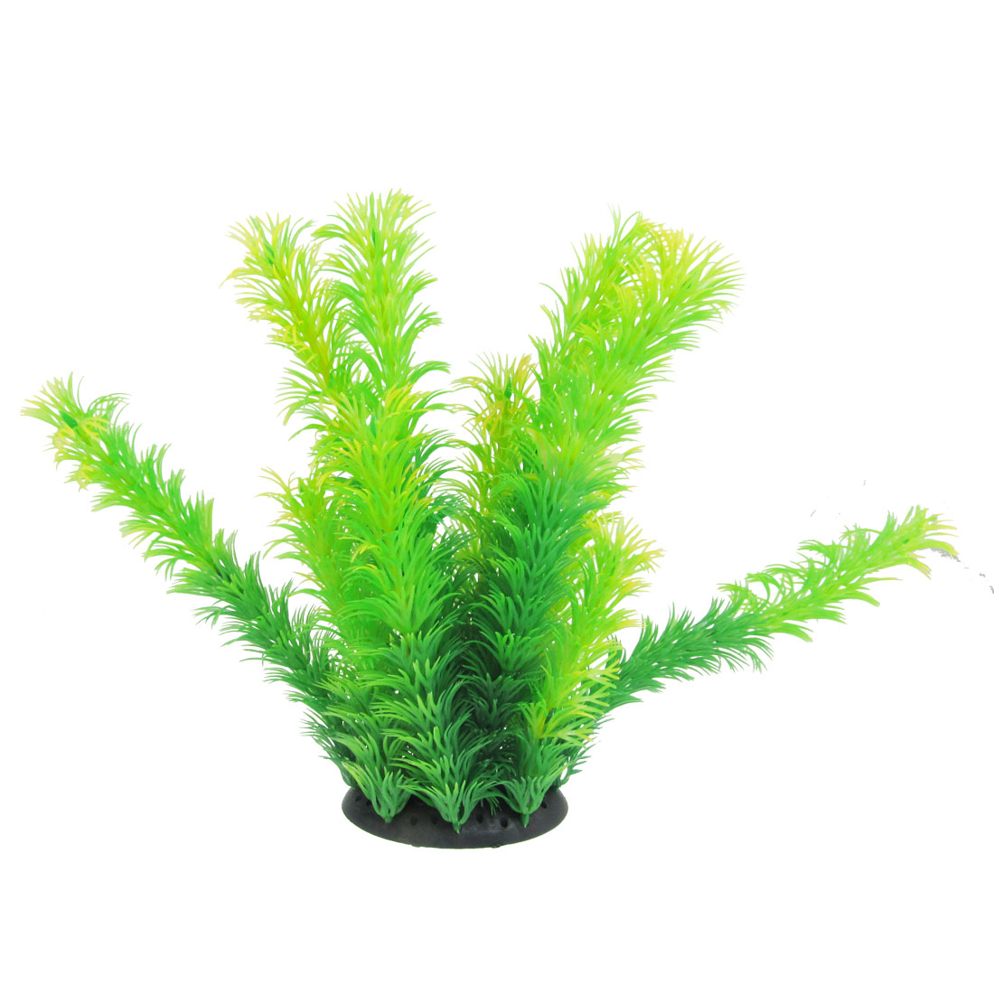 Fish Tank Aquarium Aquascaping Green Plastic Simulation Plant 7.1""