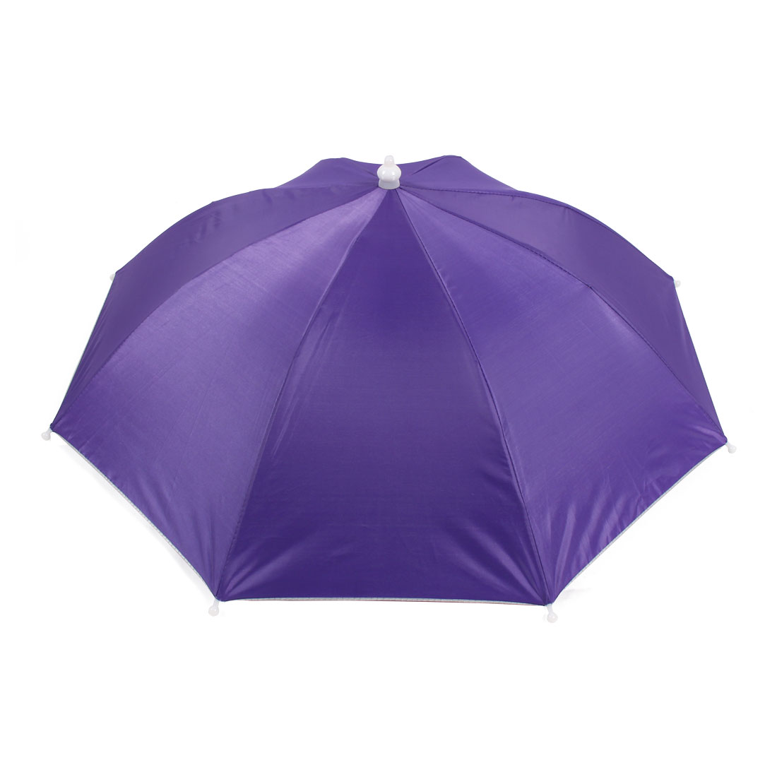 Fishing Camping Sun Shade Polyester Umbrella Hat Purple