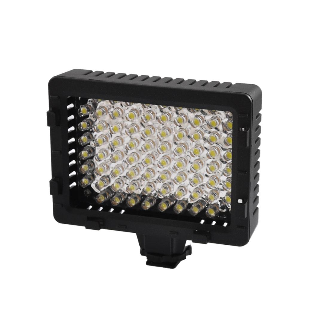 Photography White 76 LEDs DV Camcorder Video Light Lamp