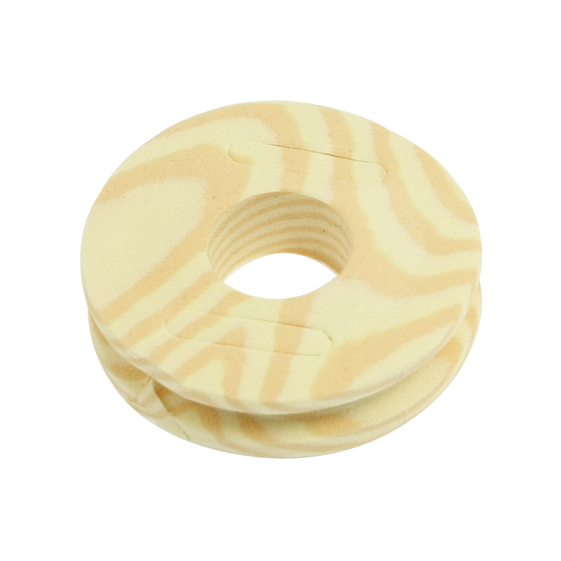 48mm Diameter Fishing Fitting Round Beige Foam Spool