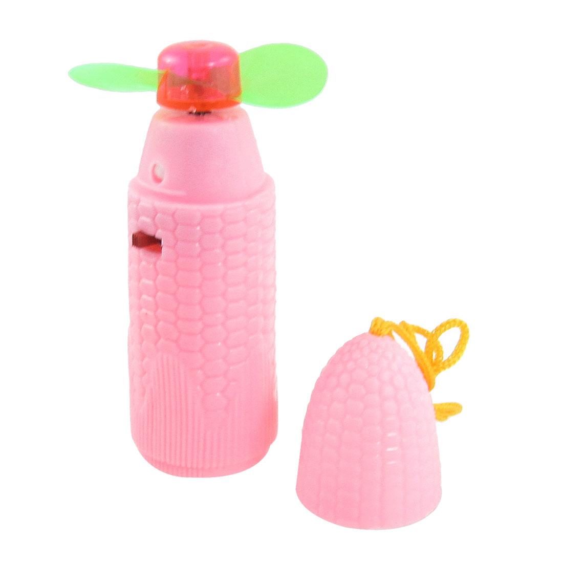 Portable Corn Shaped Battery Powered Mini Cooler Fan Pink