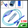 Aquarium Tank Switch Control Water Changing Siphon Vacuum Cleaner Pump Blue