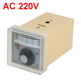 K Type Thermocouple Temperature Thermo Controller AC 220V