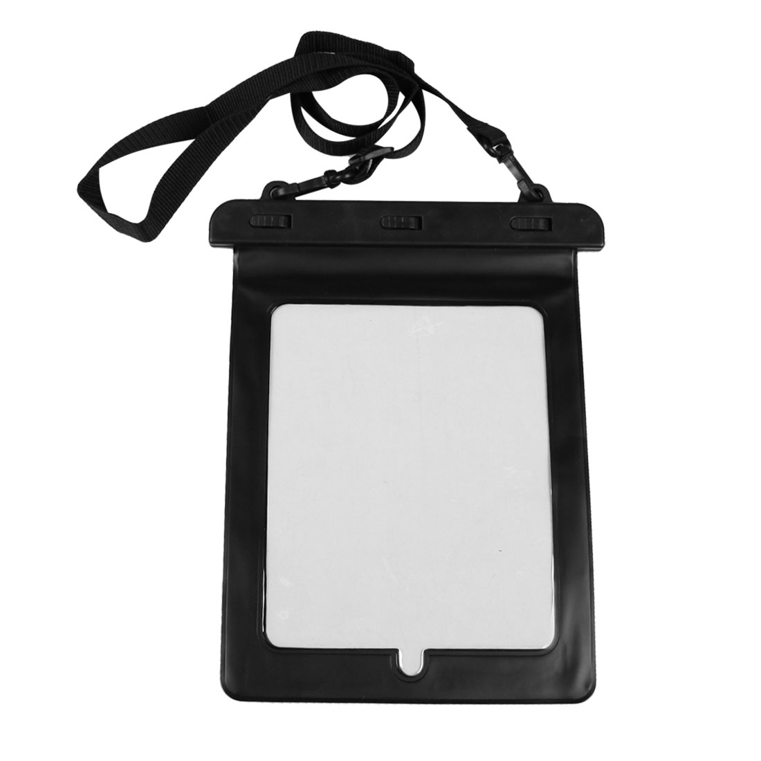 Black Water Resistance Plastic Pouch Bag Cover for Touch Screen