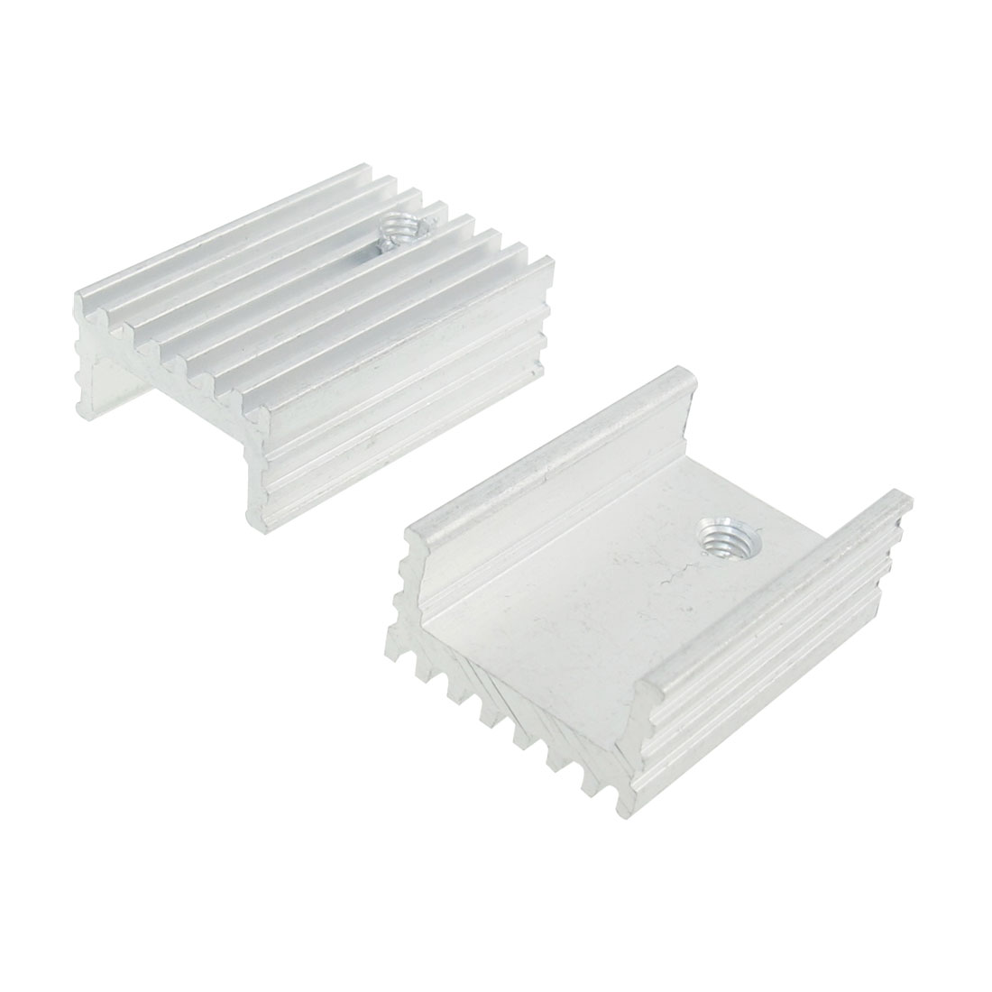 2 Pcs 15x8x22mm Heatsink Heat Diffuse Aluminium Cooling Fin