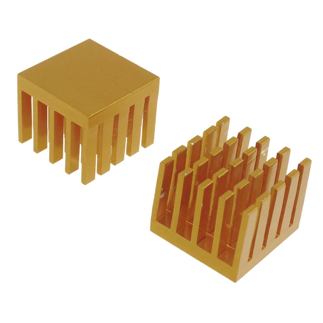 30mm x 25mm x 30mm Heatsink Heat Dissipate Cooling Fin 2 Pcs
