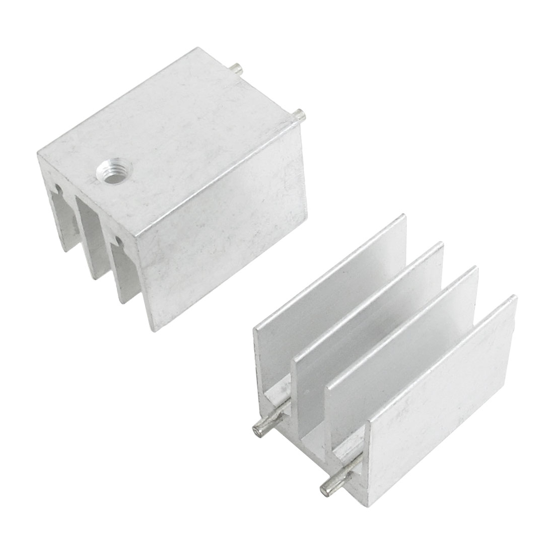 2 Pcs 16x16x22mm Heatsink Heat Diffuse Aluminium Cooling Fin