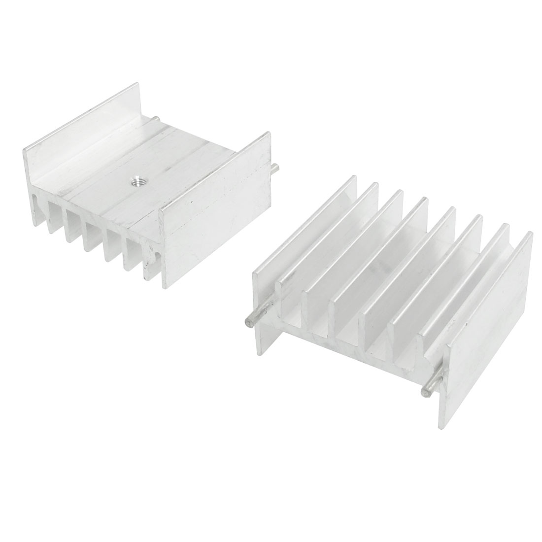 2 Pcs 32mm x 16.5mm x 30mm Heatsink Heat Diffuse Cooling Fin