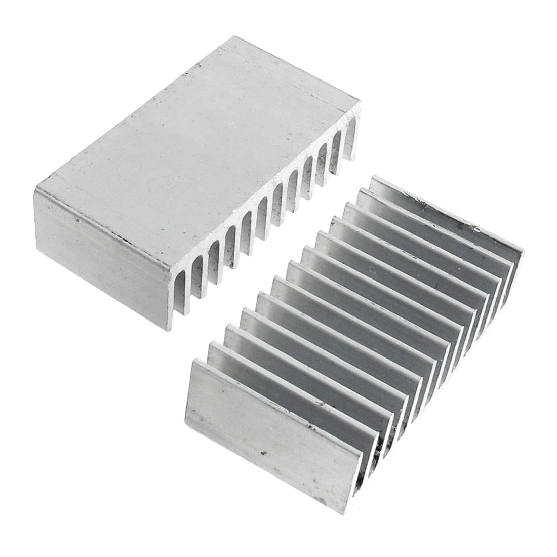 40mm x 11mm x 21mm Heatsink Heat Dissipate Cooling Fin 2 Pcs