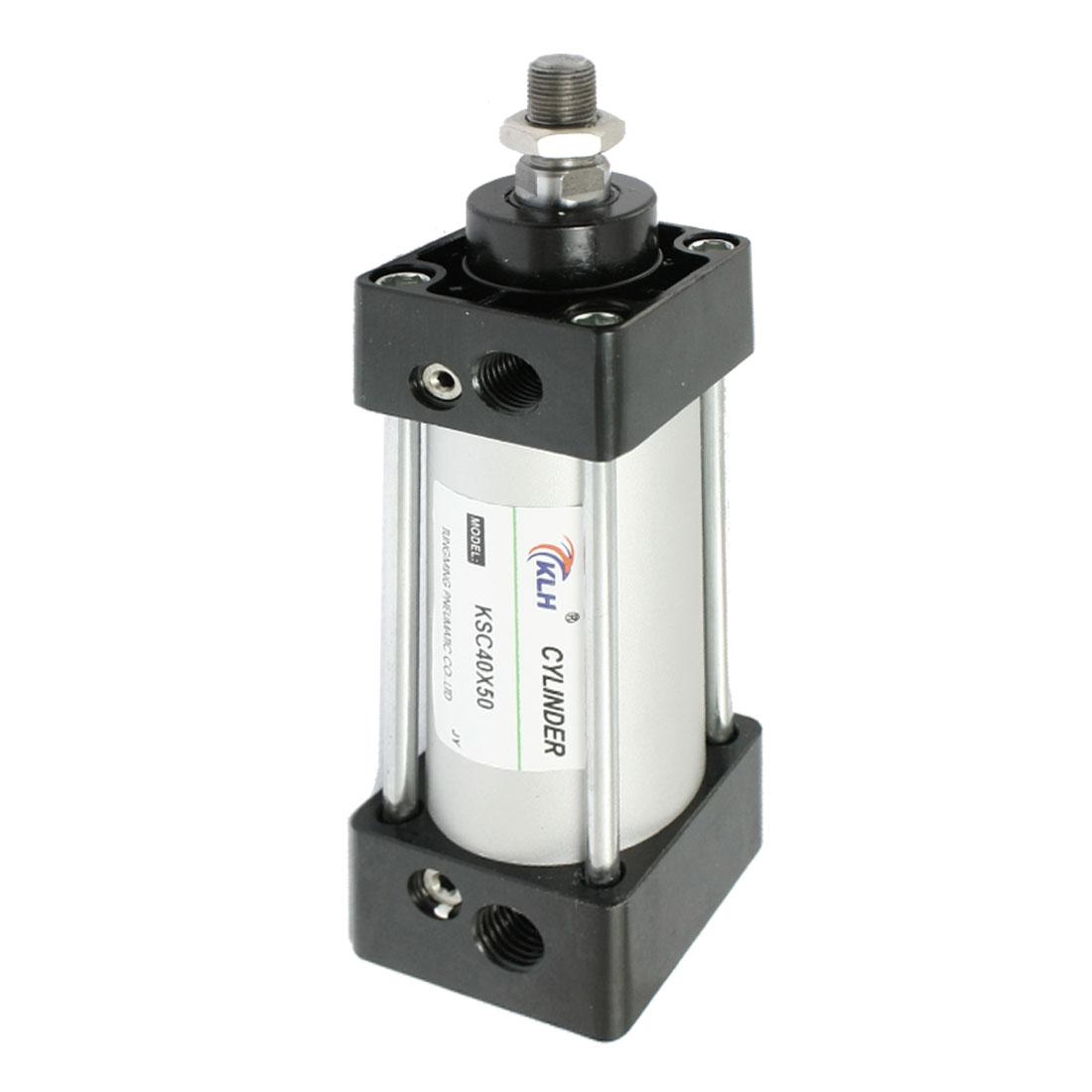 KSC40x50 40mm Bore 50mm Stroke Single Rod Pneumatic Air Cylinder