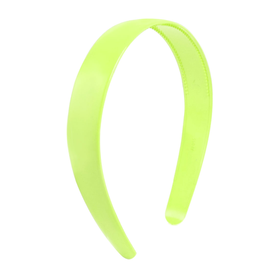 Lady Green Plastic Hair Hoop Headband Ornament w Teeth