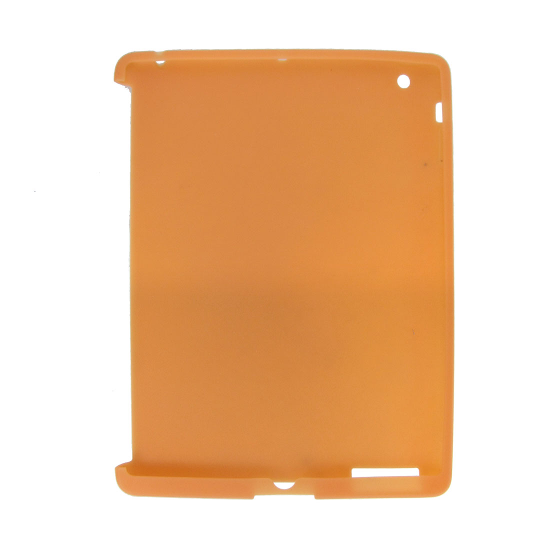 Silicone Skin Case Cover Orange for Apple iPad 3rd Generation