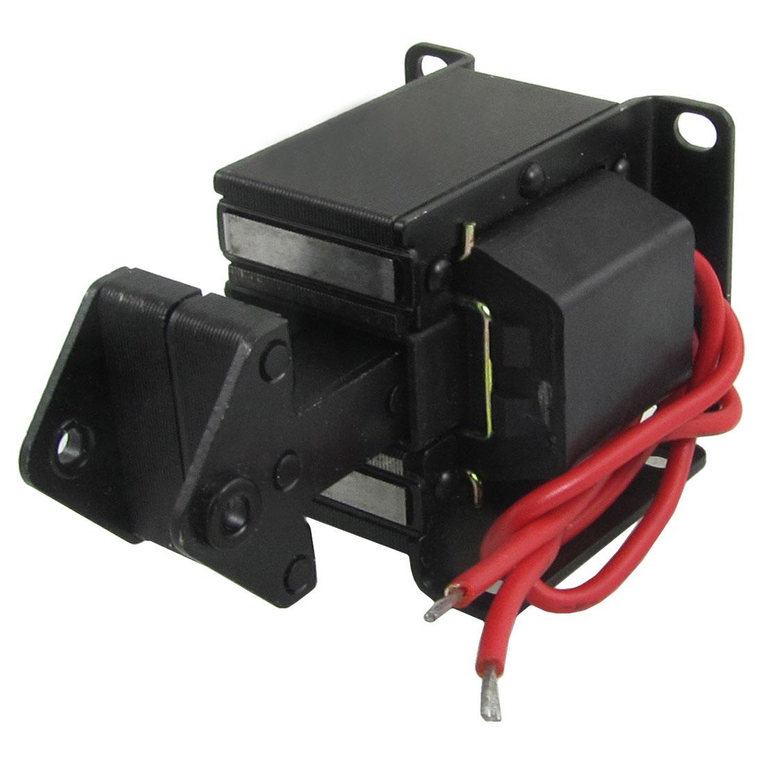 1.5Kg Force 15mm Stroke Tractive Electromagnet AC Solenoid AC 220V TAS-10