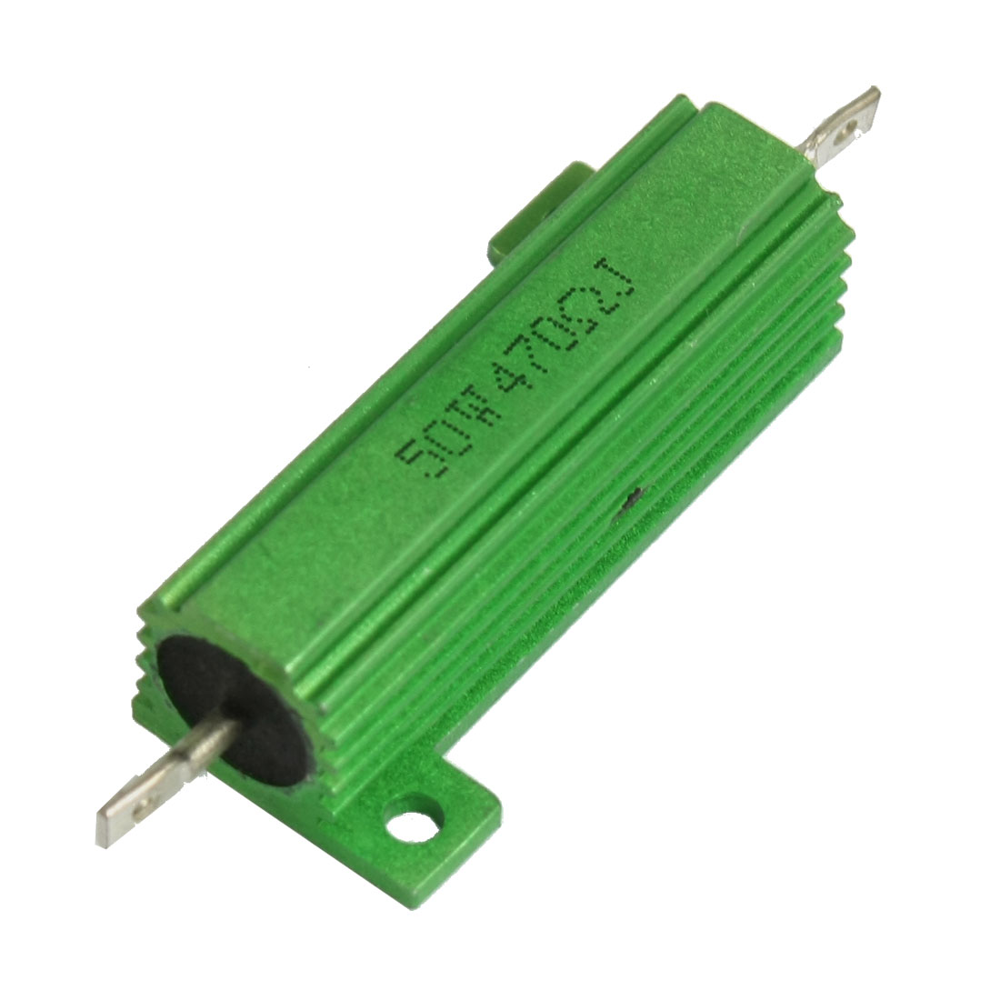 50W 470 Ohm Green Aluminium Chassis Mounted Wirewound Resistor