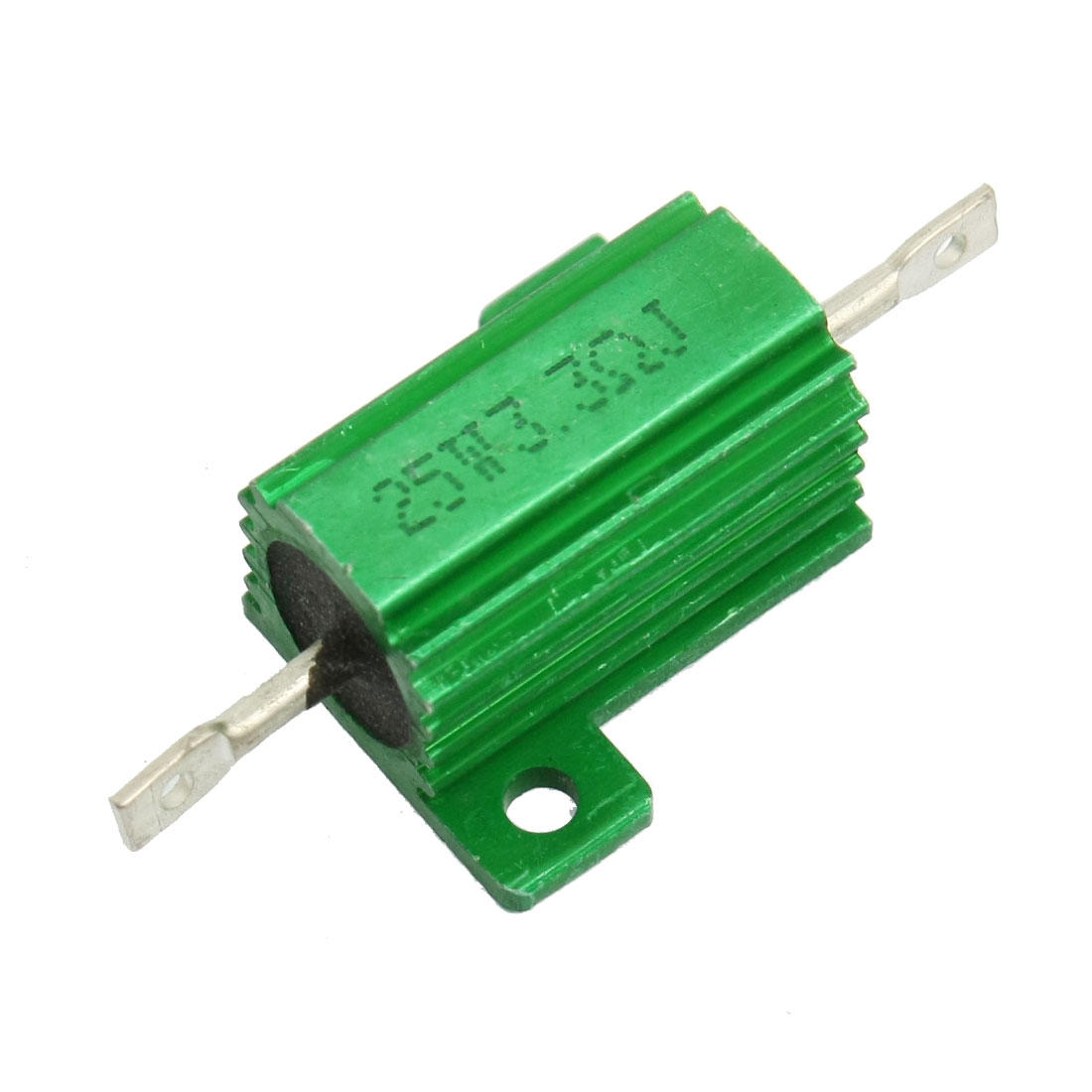 25W 3.3 Ohm Green Aluminium Chassis Mounted Wirewound Resistor