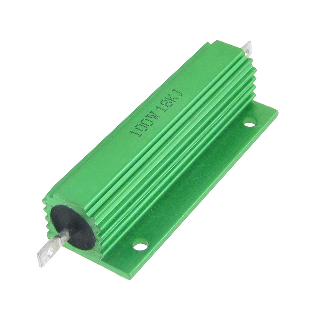 100W 18K Ohm Green Aluminium Clad Chassis Mounted Housed Resistor