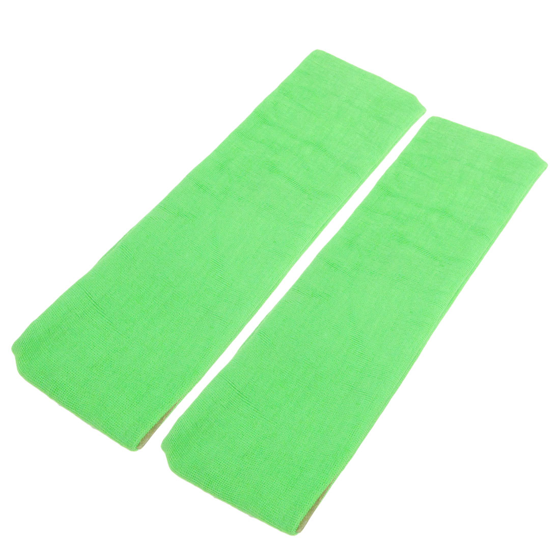 Athletic Sports Green Elastic Head Band Sweatband Protector