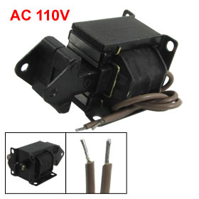 0.8Kg Force 10mm Stroke Tractive Electromagnet AC Solenoid 110V SH-AS08