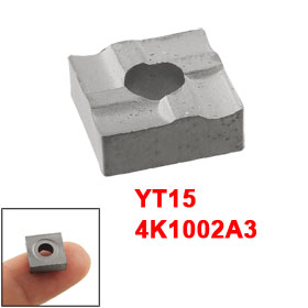 4K1002A3 YT15 Lathe Turning Square Carbide Insert 10mm x 10mm x 4mm