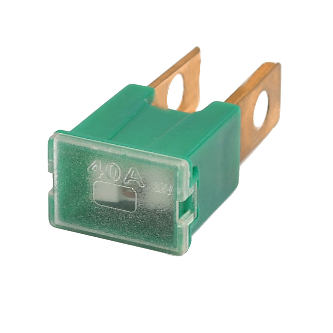 Straight Male Terminals Link PAL Fuse 40A Green for Auto Car