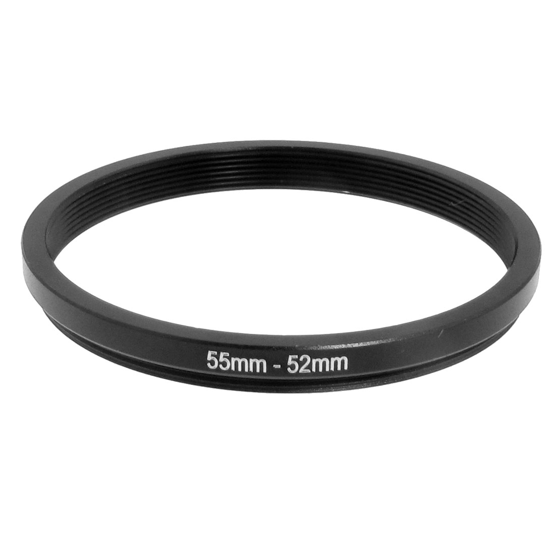 55mm-52mm 55mm to 52mm Black Step Down Ring Adapter for Camera