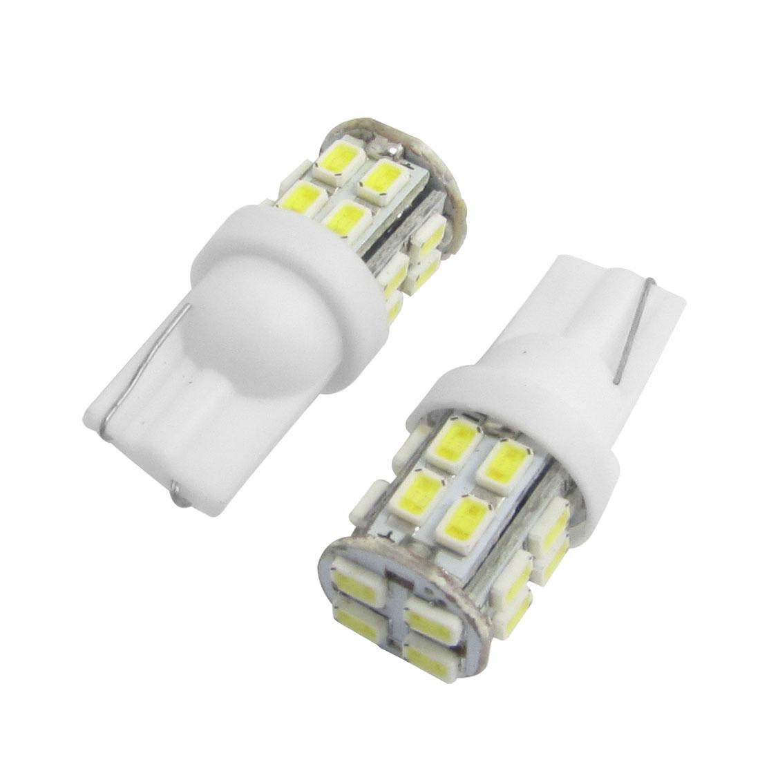10x White 3020 1206 SMD 20 LED T10 W5W 194 168 192 Car Signal Side Light Bulbs