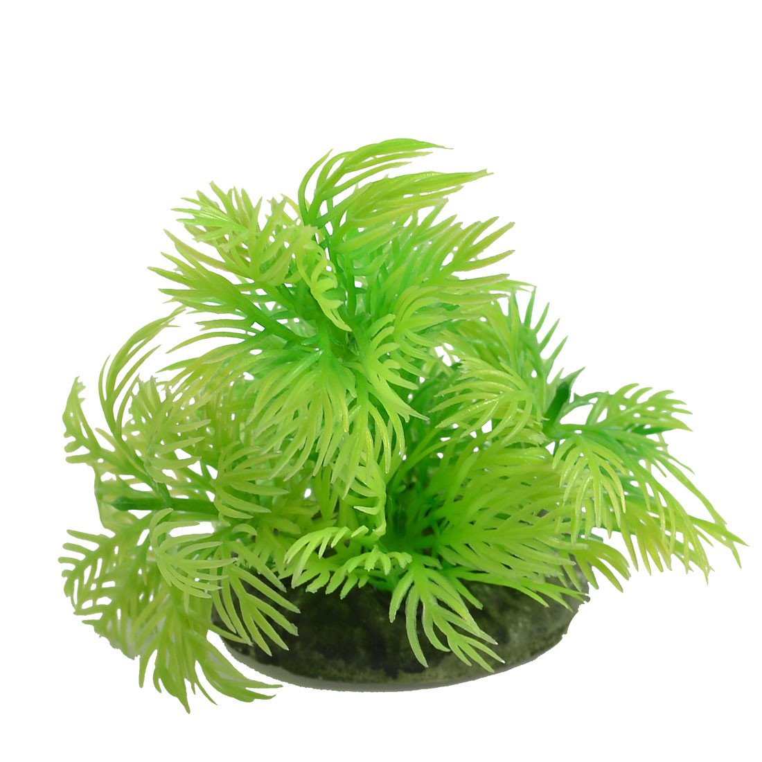 "3.9"" Height Green Artificial Water Plants Decoration for Aquarium"