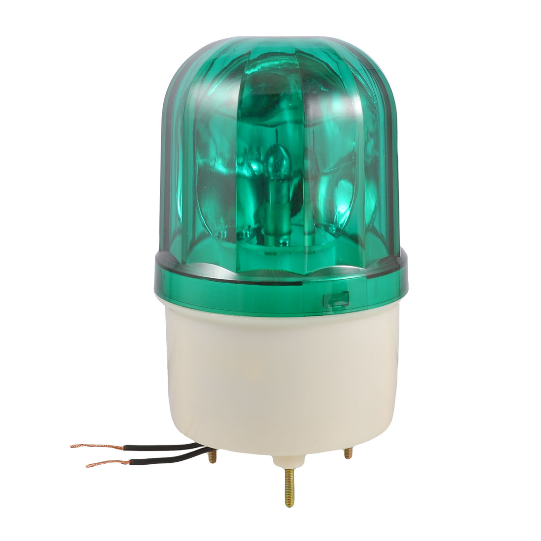 AC 110V 10W Green Rotator Rotary Lamp Warning Light Beacon for Industrial