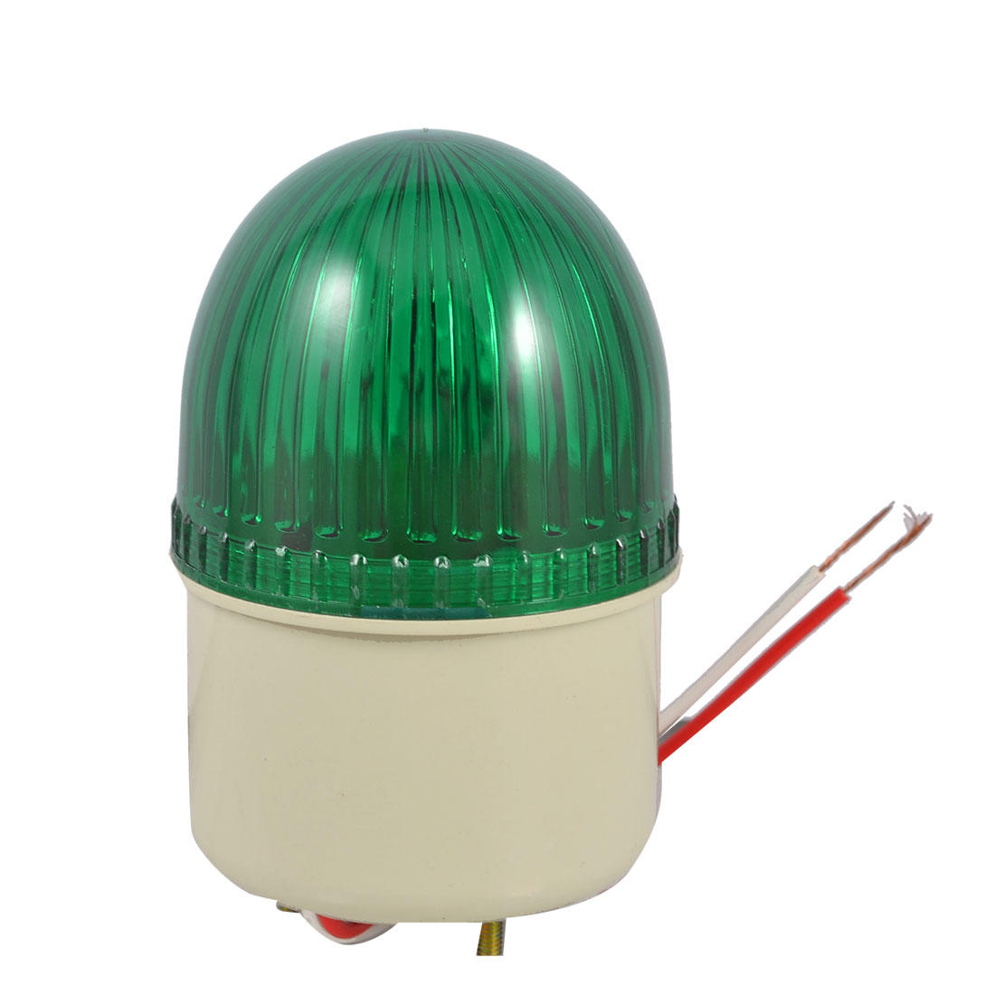 Industrial Green Signal Lamp Buzzer Sound Alarm Warning Light DC 24V 10W