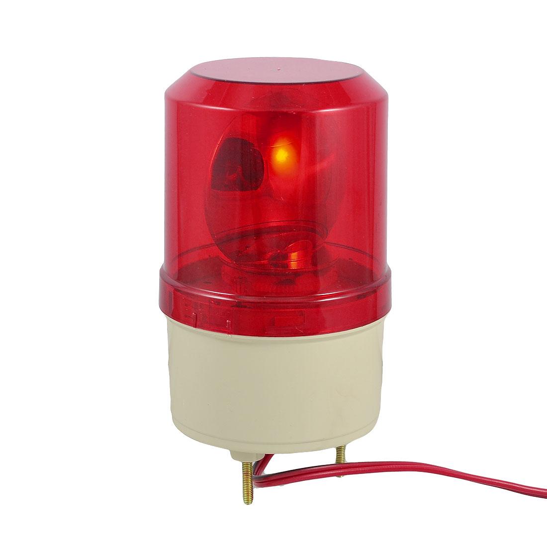 DC 24V 5W Red Rotating Flash Light Industrial Signal Warning Lamp Rmoyb