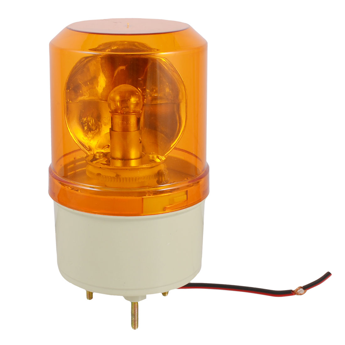 Yellow Rotating Flashing Light Signal Tower Industrial Lamp DC 24V 5W