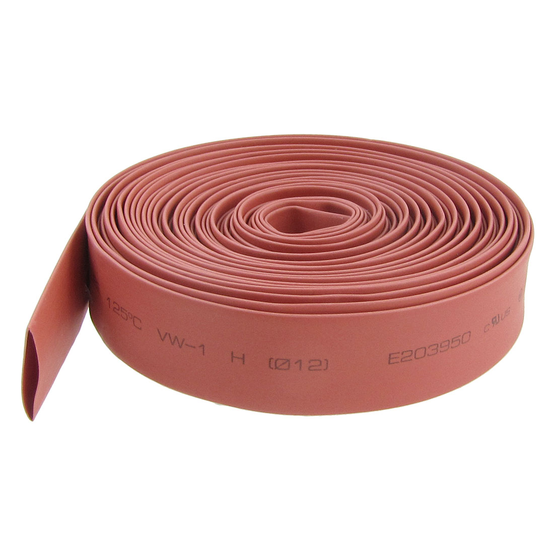Ratio 2:1 12mm Dia. Red Heat Shrinkable Tube Shrinking Tubing 8M