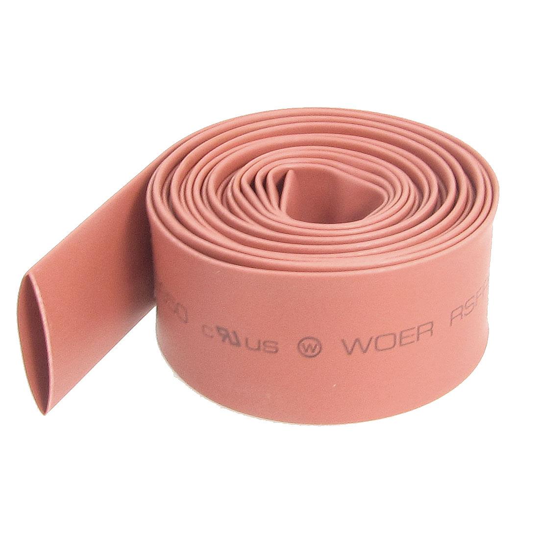 14mm Diameter Red Polyolefin Heat Shrinking Shrinkable Tube 2M